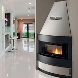 Estufa de pellet Raffaello 12 kW